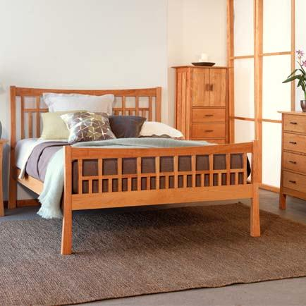 Cherry Bedroom Furniture Handcrafted In