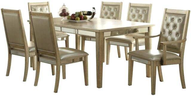 Large Golden Oak Dining Table + 6 matching chairs