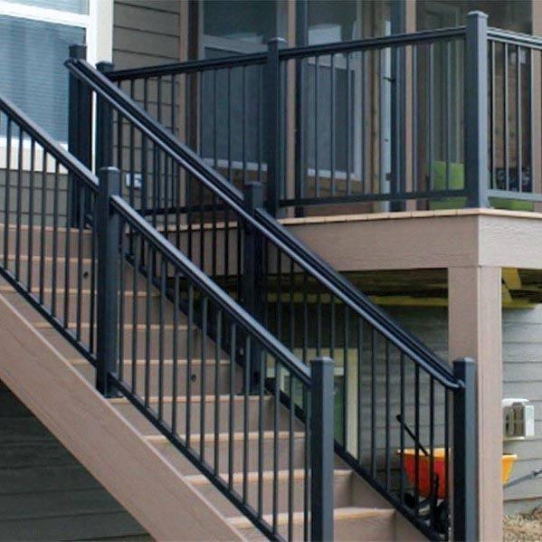 metal railings for decks railings deck designs