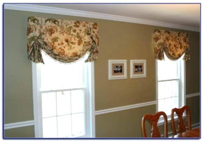 ideas bay window valance or kitchen treatments lovely for valances image of