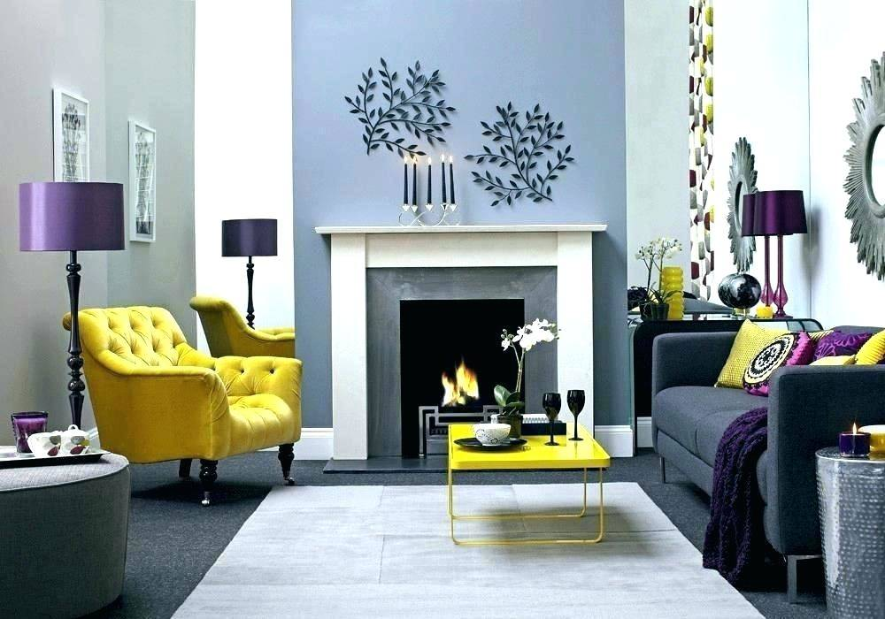 yellow and navy blue rooms