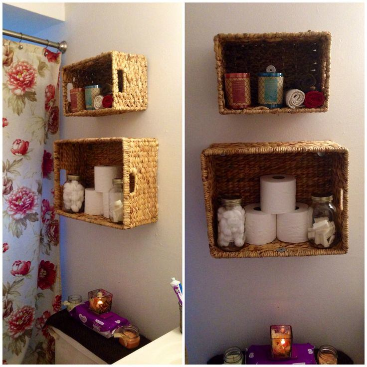 baskets for bathroom