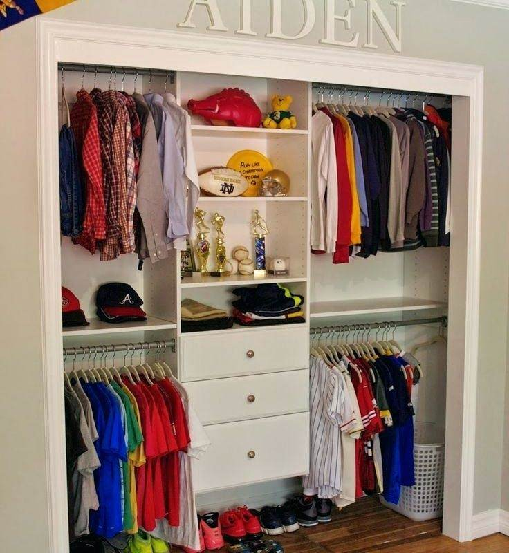 Diy Small Bedroom Closet Organization Ideas